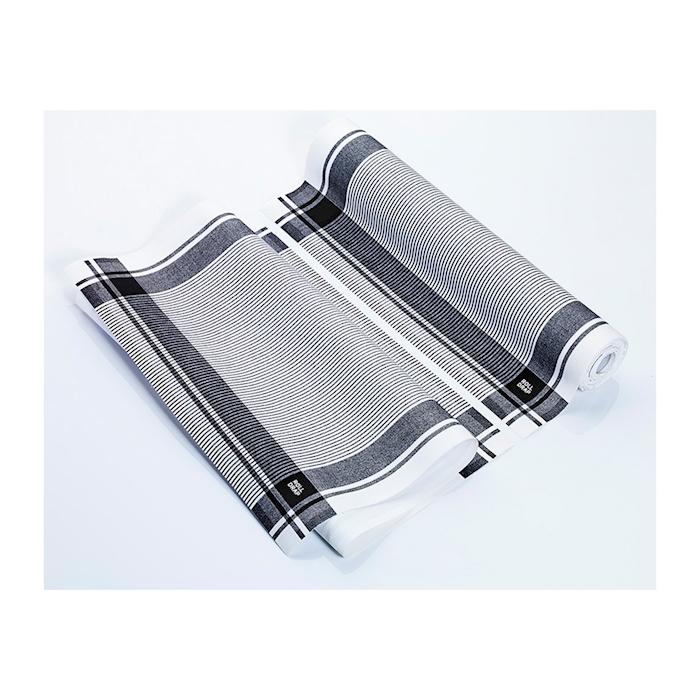 Rotolo Vintage Roll-Drap 10 canovacci 100% cotone nero cm 40x64