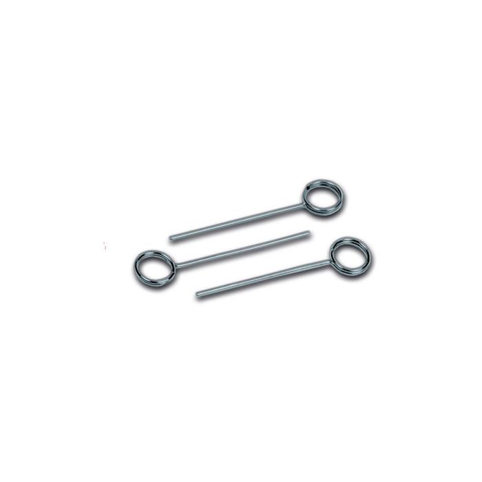 Spilloni segnaprezzi Sanelli in acciaio inox cm 7