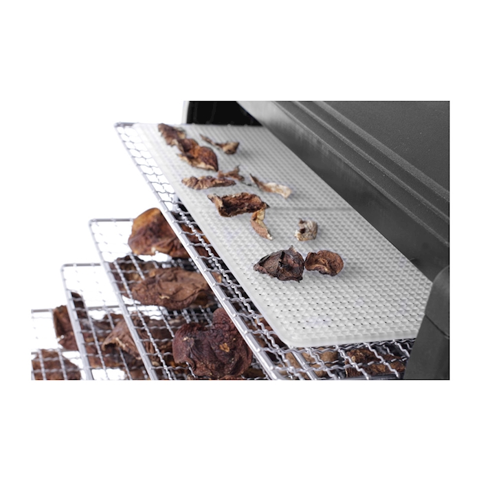 Essiccatore Hendi 6 vassoi in acciaio inox e polipropilene