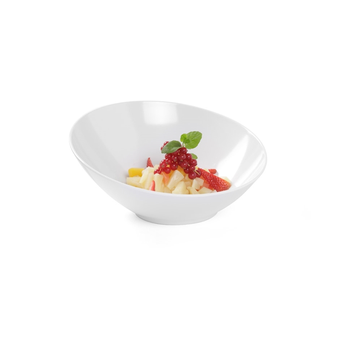 Bowl buffet Hendi in melamina bianca cm 21,2x10,4