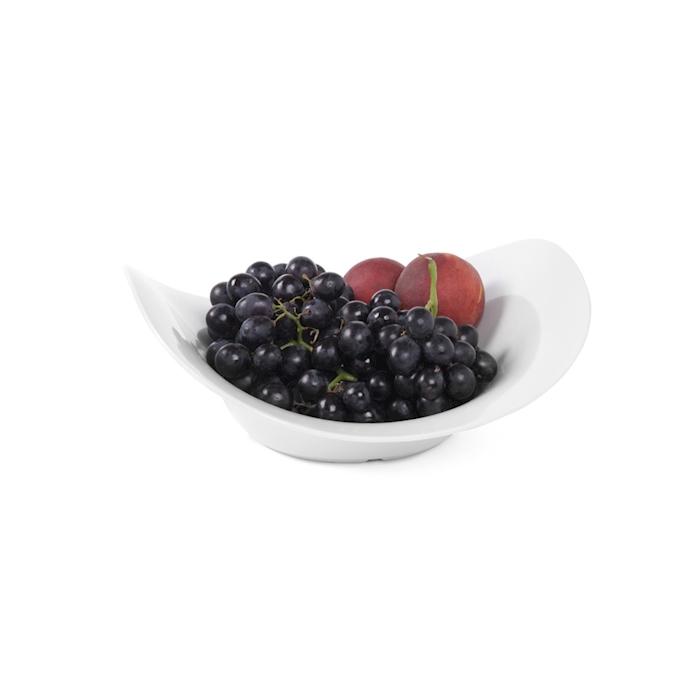 Bowl buffet a onda Hendi in melamina bianca cm 35,5x35,5x12,3