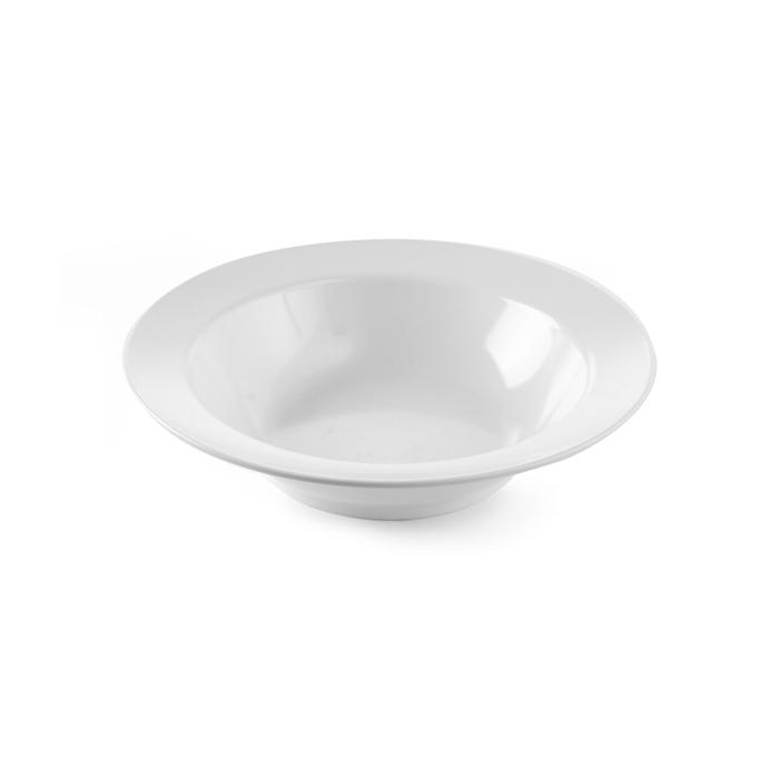 Pasta bowl Hendi in melamina bianca cm 38x9