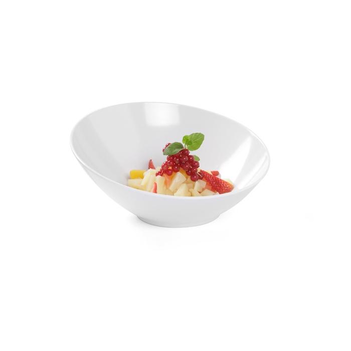 Bowl buffet Hendi in melamina bianca cm 36x16,9