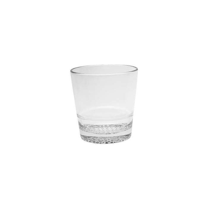 Bicchiere dof impilabile Mosaico Vidivi in vetro trasparente cl 30