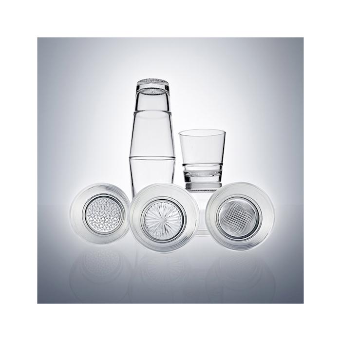 Bicchiere dof Luce Vidivi in vetro trasparente cl 40