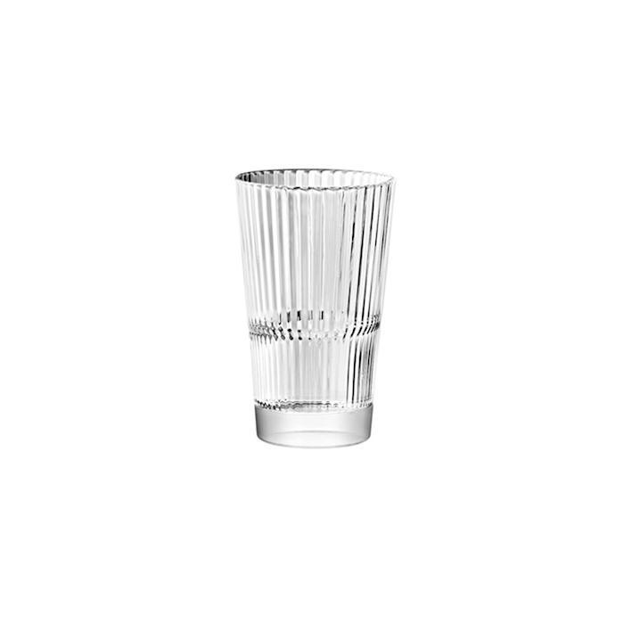 Bicchiere Diva bibita Vidivi in vetro lavorato cl 29