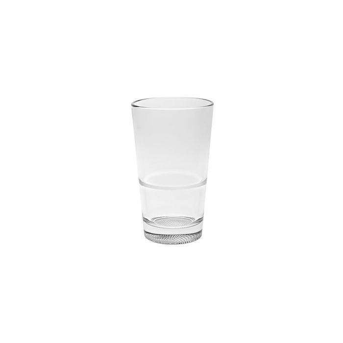 Bicchiere Prisma Vidivi in vetro trasparente cl 42