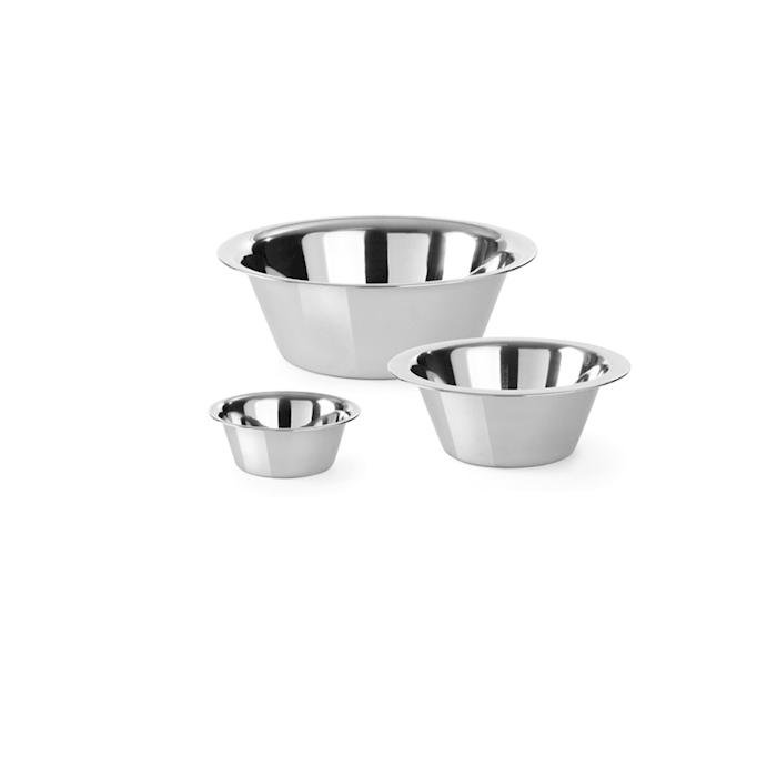 Bowl semisferica Hendi in acciaio inox cm 22,5x8,3 lt 1,6