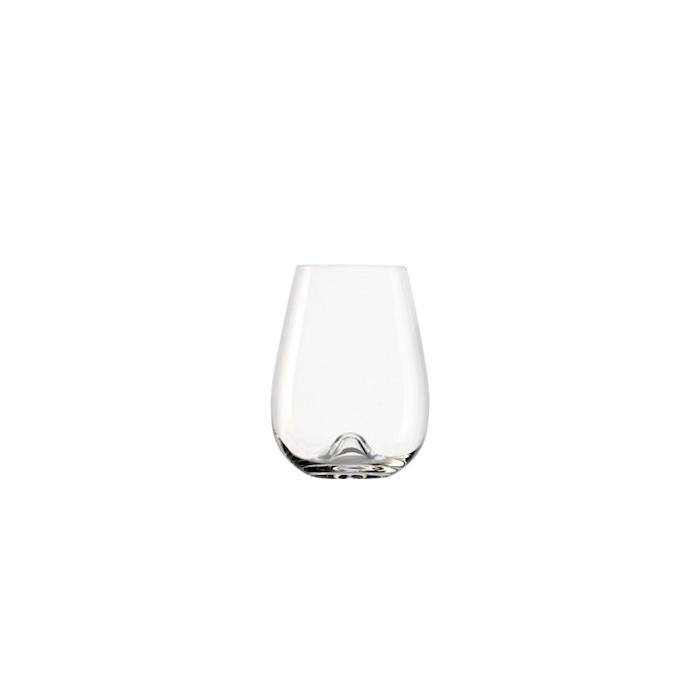 Bicchiere small Vulcano Stolzle in vetro trasparente cl 47,5