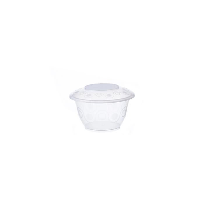 Coppetta monouso gelato in polipropilene trasparente cl 30