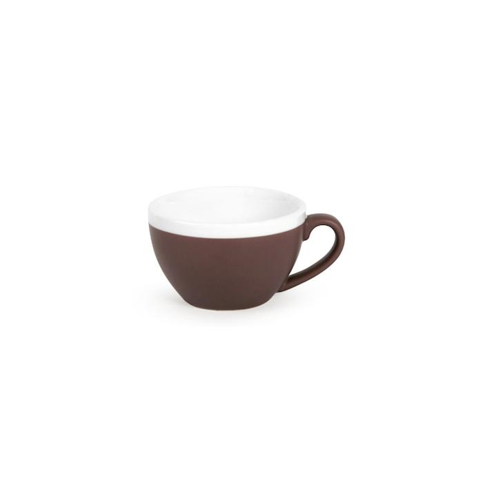 Tazza cappuccino CoffeeCo senza piatto in porcellana marrone cl 23