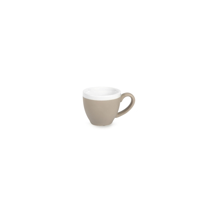 Tazza caffè CoffeeCo senza piatto in porcellana tortora cl 9