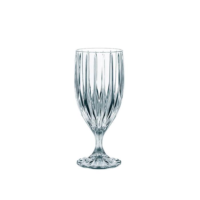 Calice birra Prestige in vetro intagliato cl 39