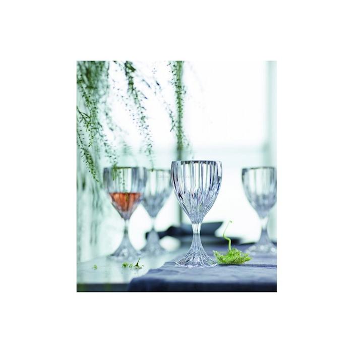 Calice multiuso Prestige in vetro intagliato cl 28