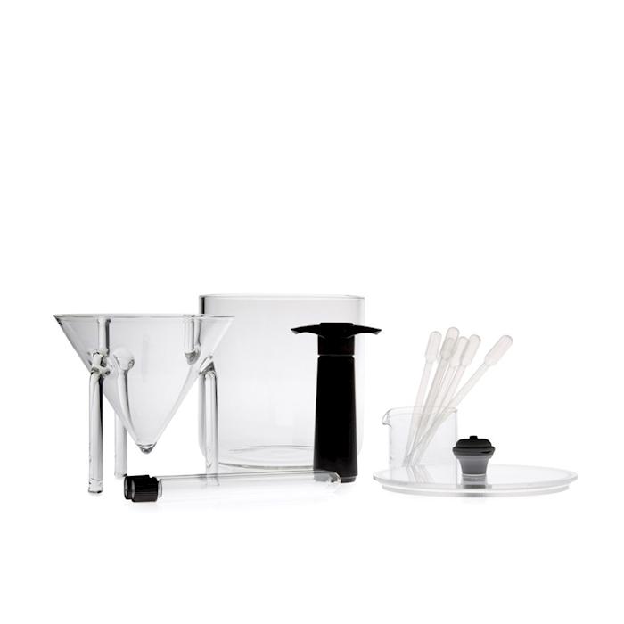 Kit distillazione per microonde 100% Chef in vetro borosilicato