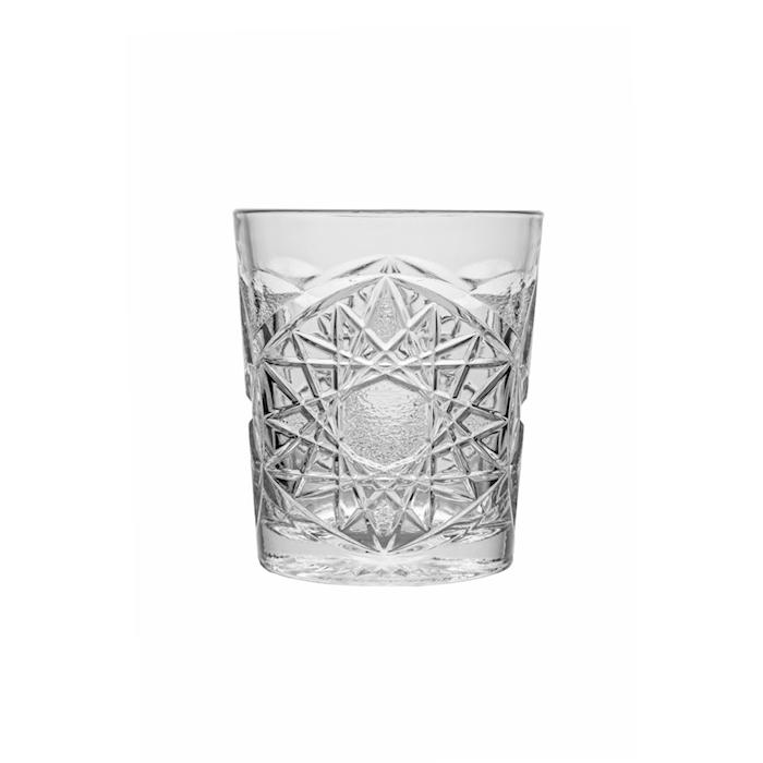 Bicchiere Funky in vetro trasparente cl 34