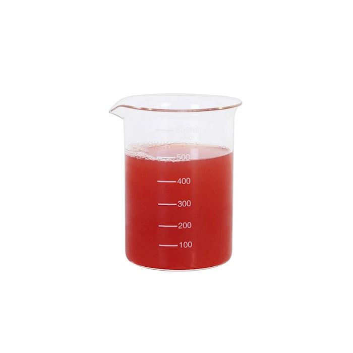 Contenitore beaker in vetro graduato cl 60