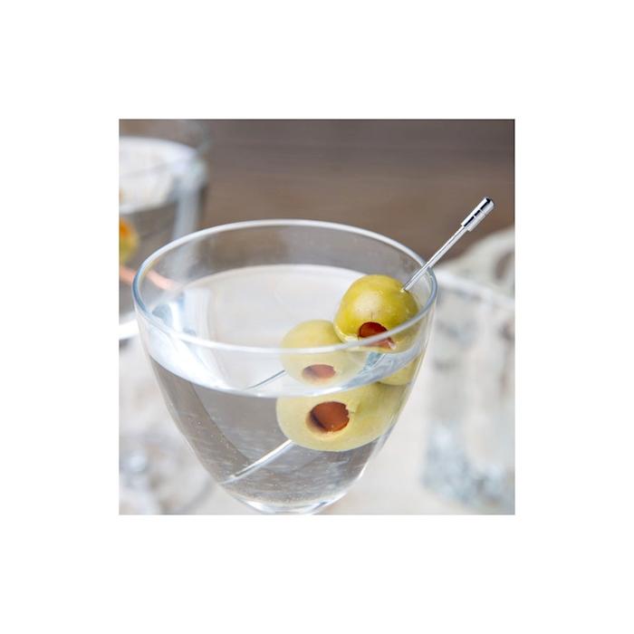 Spiedini cocktail in acciaio inox cm 11