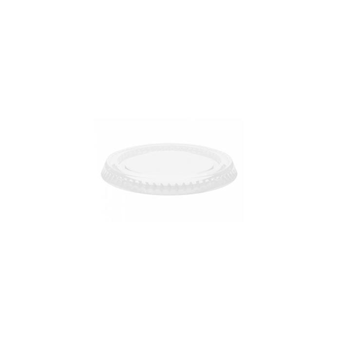 Coperchio per coppetta salsa in pet trasparente cm 6,5