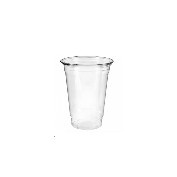 Bicchiere monouso in pet trasparente cl 37,5