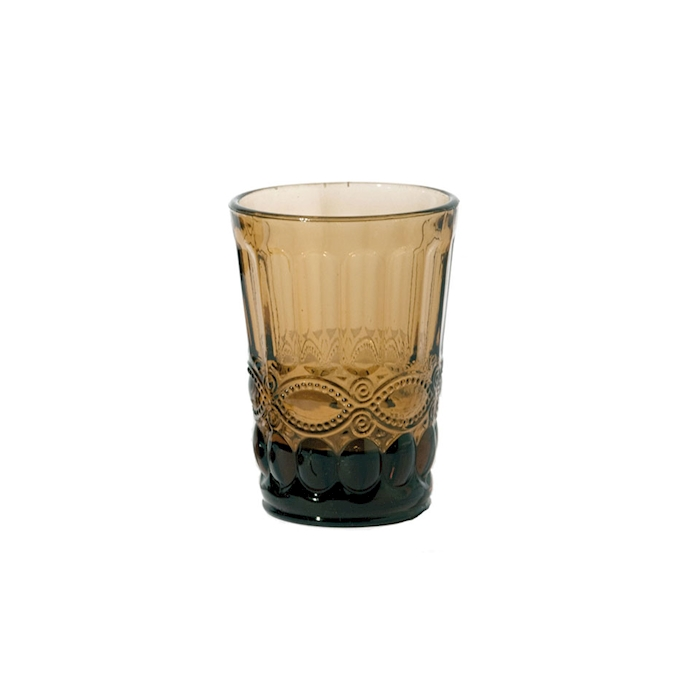 Bicchiere Solange in vetro ambra cl 26,5