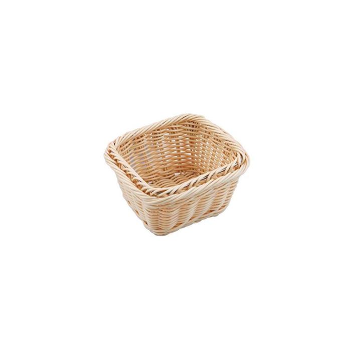 Porta pane gastronorm 1/6 in polyrattan color naturale