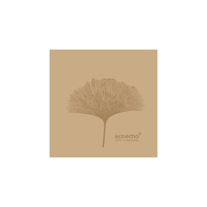 Tovagliolo Organic Duni Dunisoft marrone cm 20x20