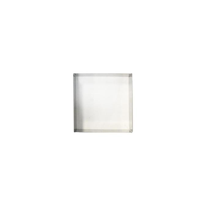 Stampo quadro in acciaio inox cm 14x14