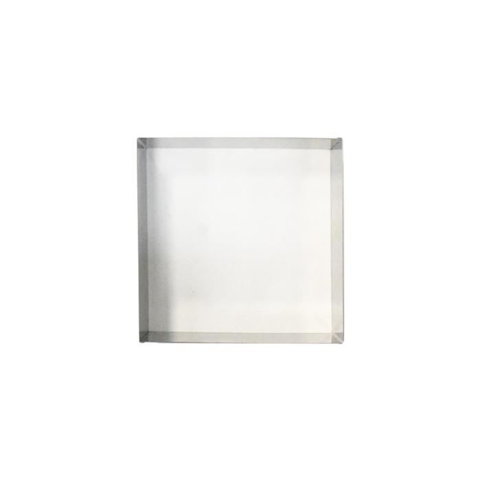 Stampo quadro in acciaio inox cm 20x20