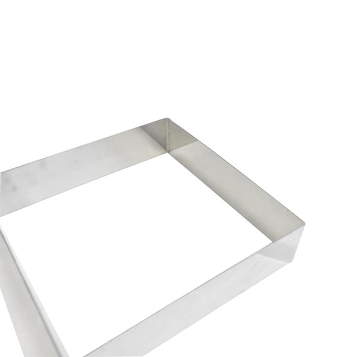Stampo quadro in acciaio inox cm 24x24