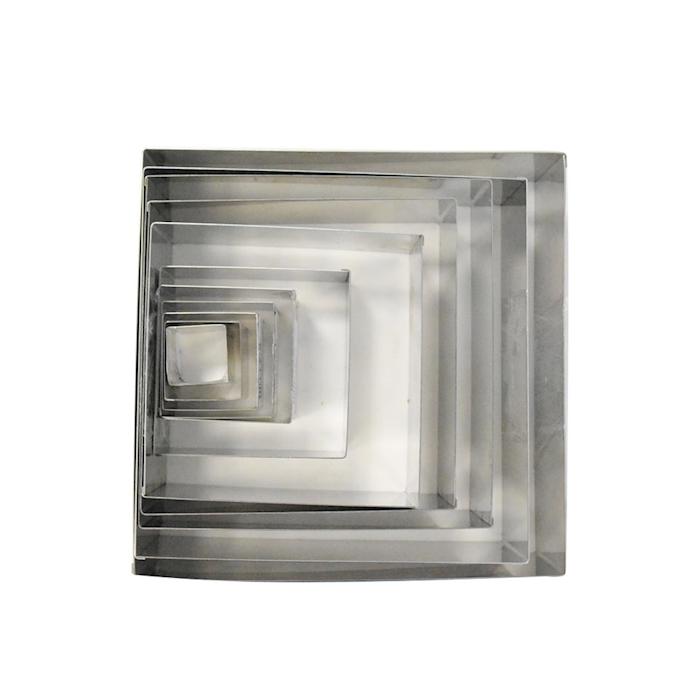 Stampo quadro in acciaio inox cm 27x27