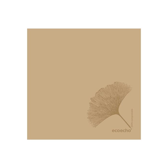 Tovagliolo Organic Duni Dunisoft marrone cm 40x40