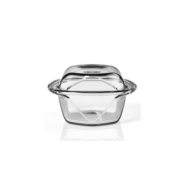 Set 2 pirofile Chef N' Table in vetro temperato cm 17x15