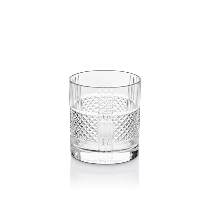 Bicchiere Prisma cocktail dof Vidivi in vetro lavorato cl 33