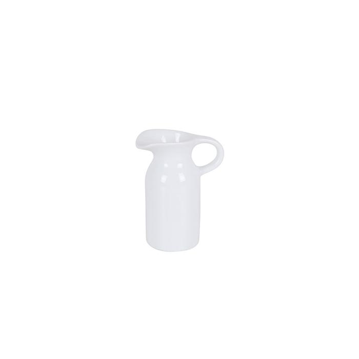 Lattiera in porcellana bianca cl 10