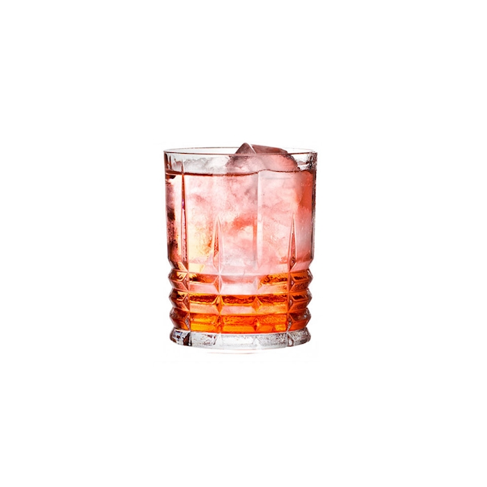 Bicchiere Straight Highland in vetro trasparente cl 34,5