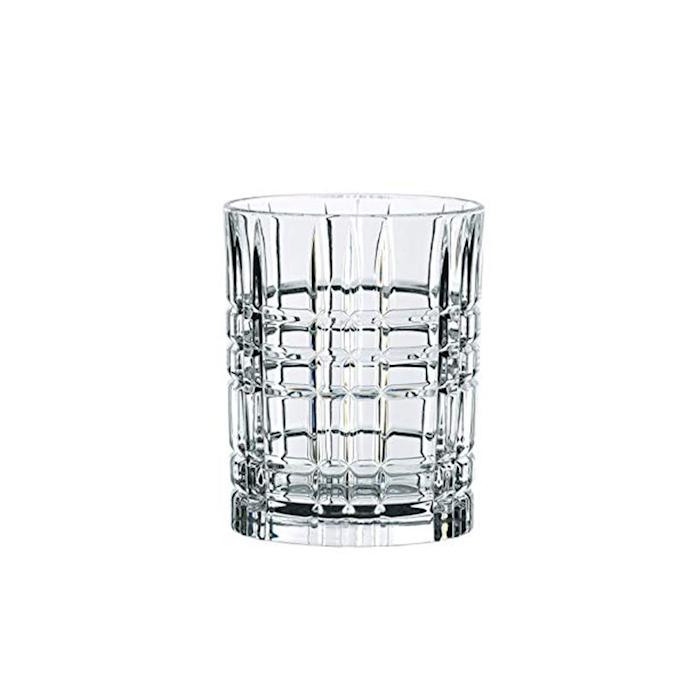 Bicchiere Square Highland in vetro trasparente cl 34,5