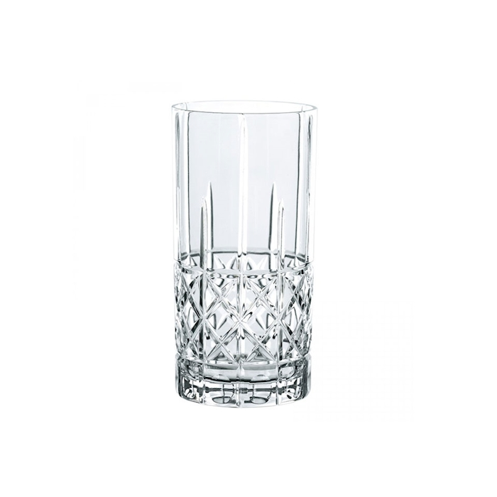 Bicchiere Diamond Highland long drink in vetro trasparente cl 44,5
