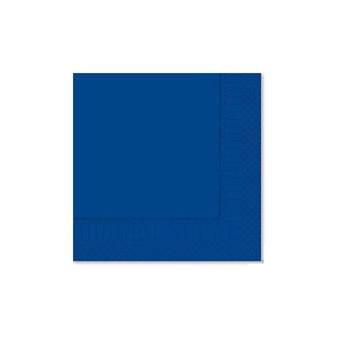 Tovagliolo 2 veli in cellulosa blu notte cm 25x25
