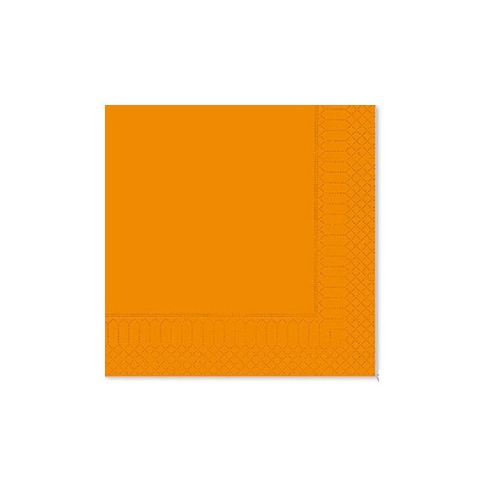 Tovagliolo in cellulosa 2 veli cm 33 x 33 arancio