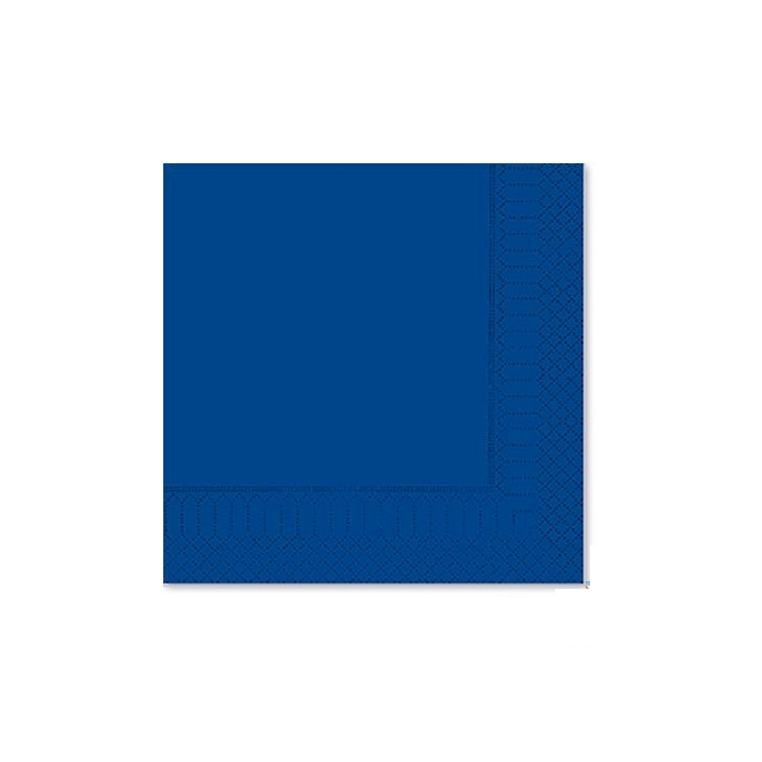 Tovagliolo in cellulosa 2 veli blu notte cm 33x33