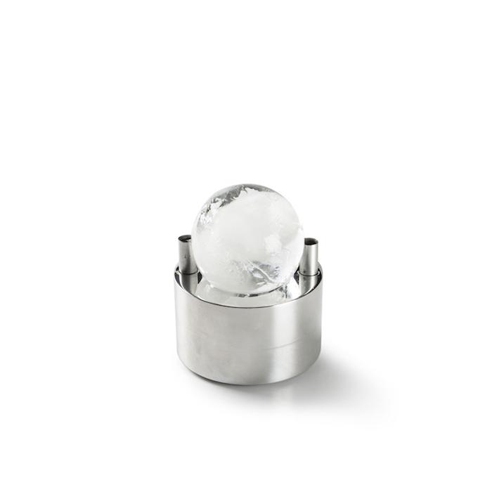 Stampo ghiaccio Ice Press 100% Chef in alluminio cm 8