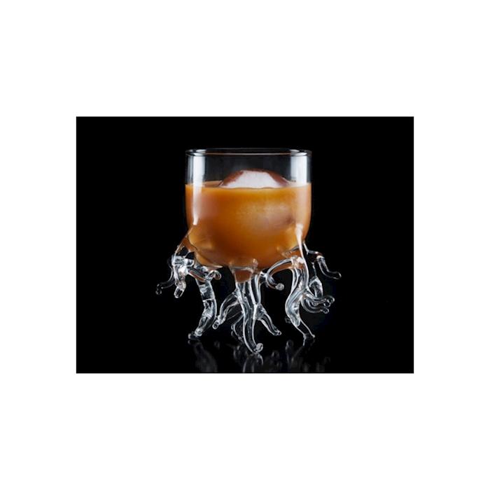 Bicchiere Coral Reef 100% Chef in vetro borosilicato cl 25