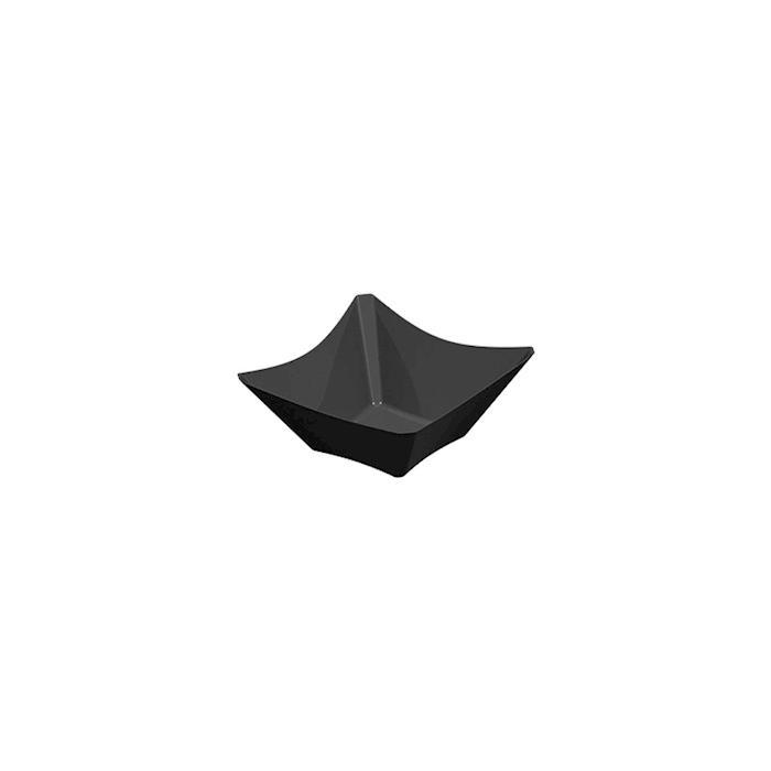 Coppetta Only in polistirene nero cm 7,5x7,5x3