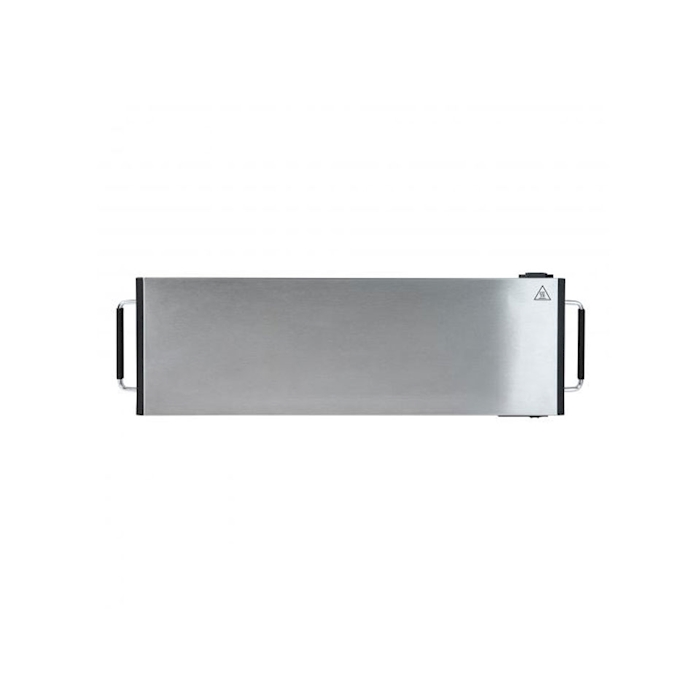 Piastra scaldapiatti Domo in acciaio cm 62x20 1200W