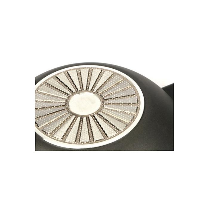 Wok induzione Ballarini un manico in alluminio antiaderente cm 28