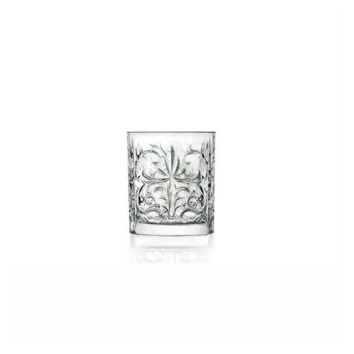 Bicchiere dof Tattoo RCR in vetro decorato cl 33,7