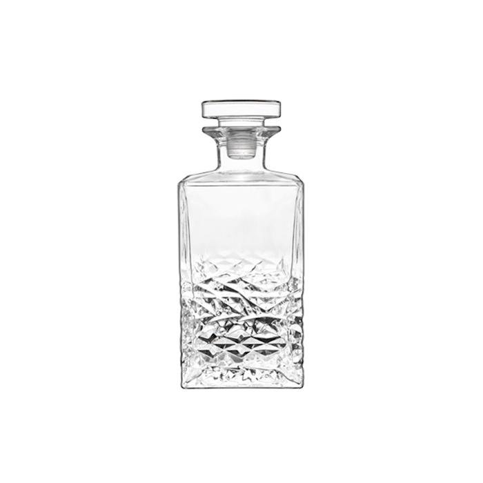 Bottiglia Textures Luigi Bormioli con tappo in vetro cl 75