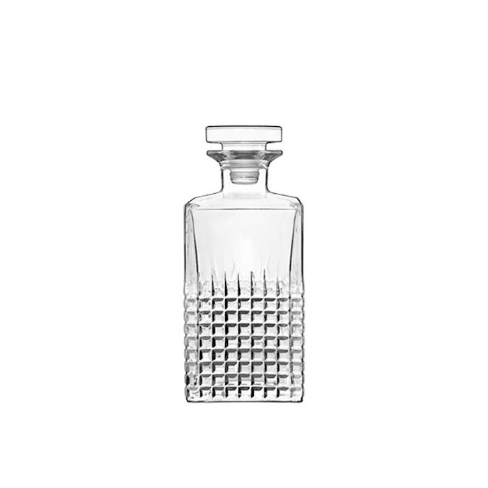 Bottiglia Charme Luigi Bormioli con tappo in vetro cl 75