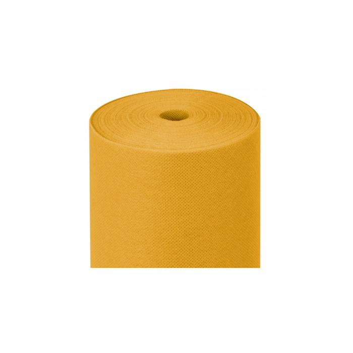 Rotolo tovaglia pretagliato in tnt Spundbond giallo mt 50,4x1,20